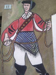 Murale di Mamoiada