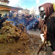 I fuochi di Sant'Antonio Abate: la prima uscita delle maschere a Mamoiada