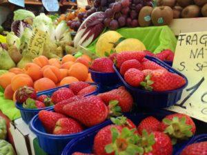 il mercato della frutta