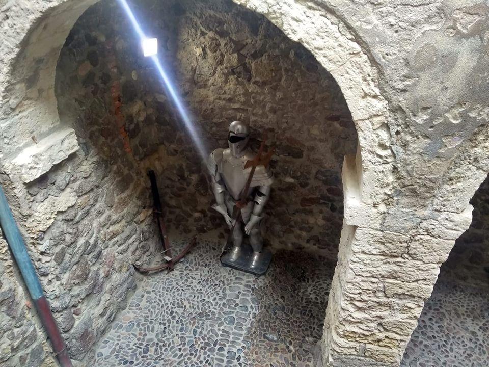 Una postazione di guardia del castello