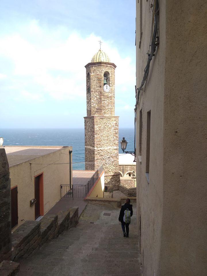 dentro il Castello Doria - Castelsardo