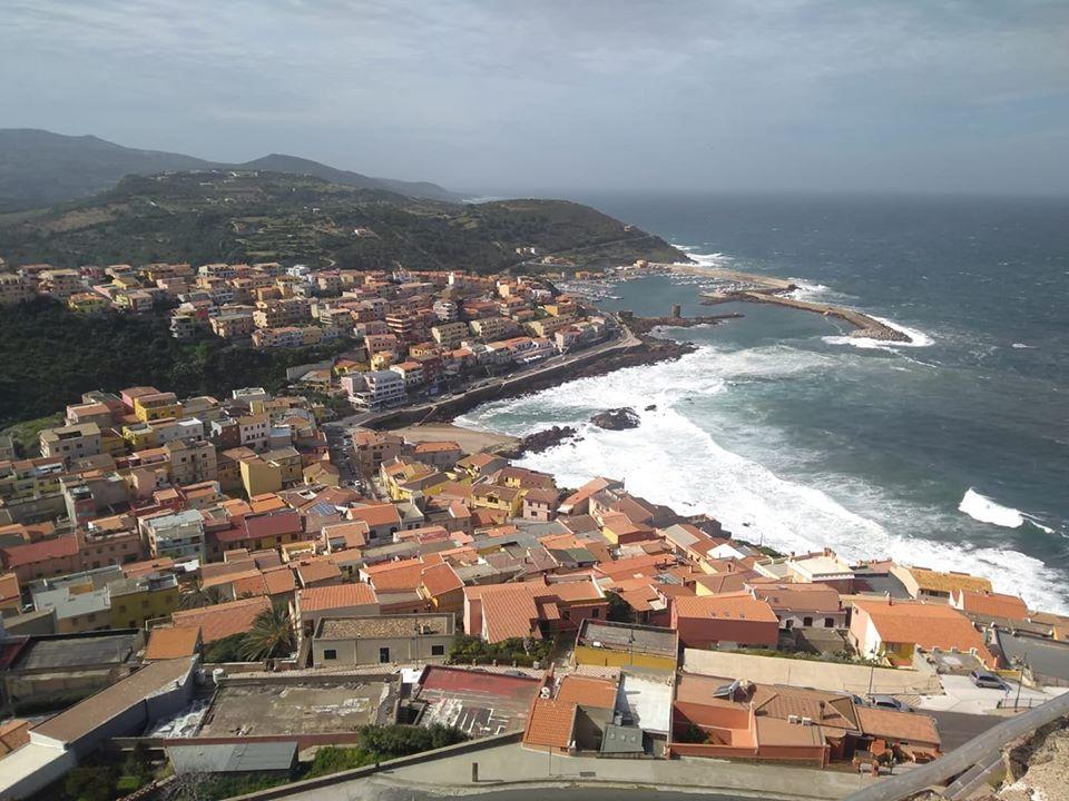 panorama from castelsardo castle
