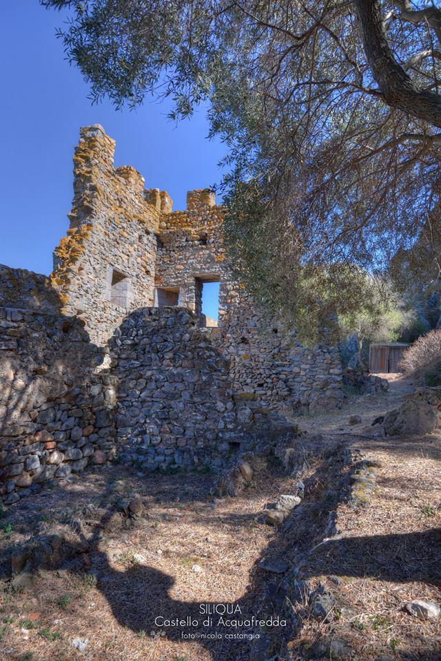 The castle of Acquafredda